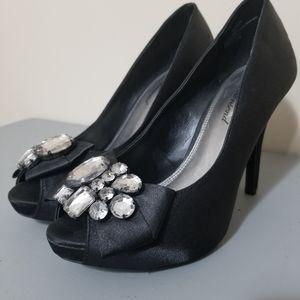 Lulu Townsend satin heels